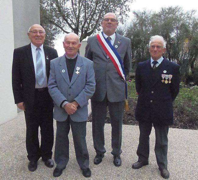 11 novembre - La croix du combattant pour Guy Praud - article du 15 novembre 2014
