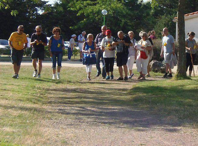 3ème randonnée gourmande avec un clin d'oeil du Gers - article du 29 juillet 2014