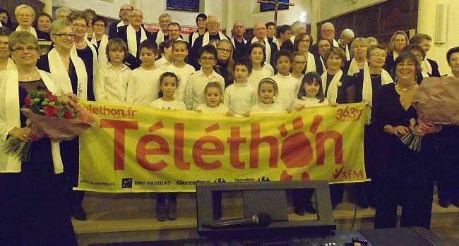 La mobilisation des Givrandais rapporte 5 354 € au Téléthon - article du 11 décembre 2014