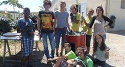 Les jeunes bricoleurs de l'Eldor'ados rénovent leur local - article du 30 juin 2015