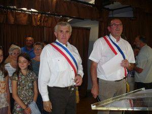Signature de la charte de jumelage à Givrand le 14 juillet 2012