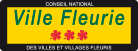 Logo ville fleurie